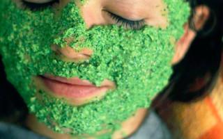 Рецепты масок из петрушки для кожи лица