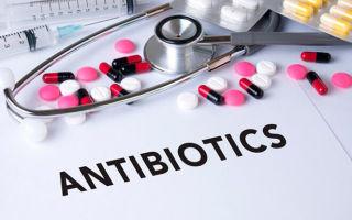 Какие кожные болезни можно вылечить антибиотиками?