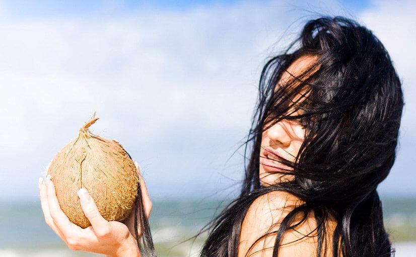 Масло кокосовое для волос - лечебные свойства и принцип действия