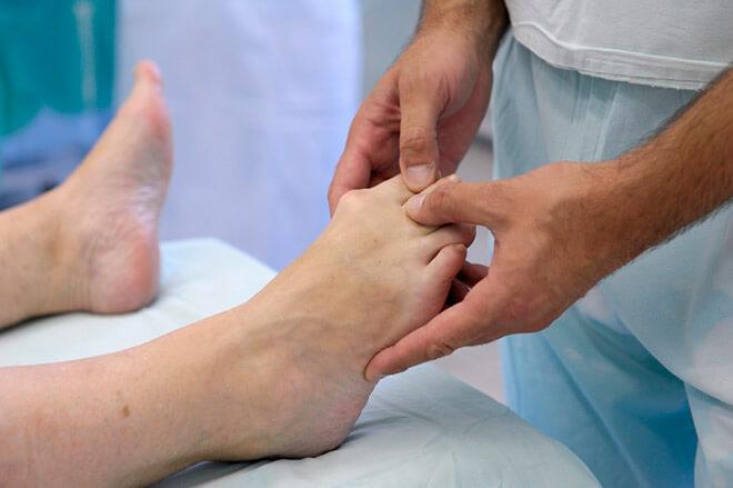 Кожные болезни ног