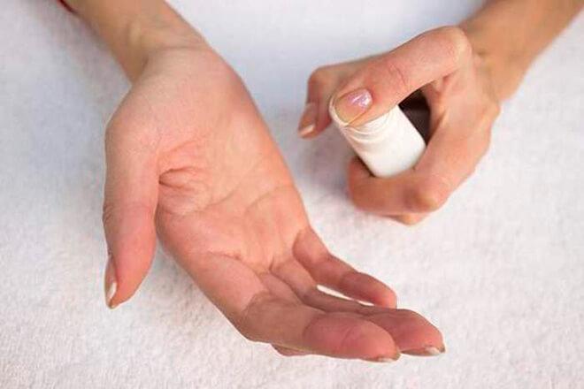 Лечение волдырей на ладонях