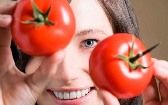 Отзывы о применении масок из помидор